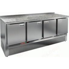 Охлаждаемый стол HICOLD GNE 1111/TN камень с нижним расположением агрегата