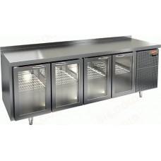 Охлаждаемый стол HICOLD GNG 1111 HT со стеклянными дверями