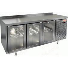Охлаждаемый стол HICOLD SNG 111 HT со стеклянными дверями