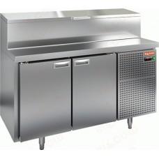 Охлаждаемый стол PZ1-11/GN 1/3H для пиццы стандартный HICOLD