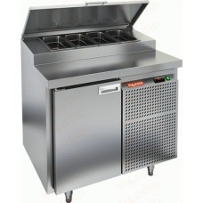 Охлаждаемый стол PZ1-1/GN 1/3H для пиццы стандартный HICOLD