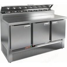 Охлаждаемый стол PZE2-111/GN 1/6H HICOLD для пиццы
