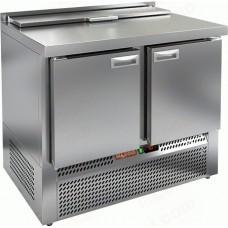 Охлаждаемый стол SLE2-11GN 1/6 HiCold для салатовсаладетта