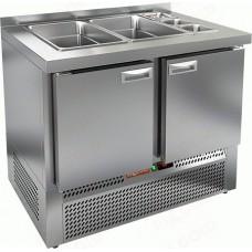 Охлаждаемый стол SLE3-11GN HiCold для салатовсаладетта