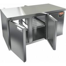 Сквозные охлаждаемые HICOLD столы с распашными дверями