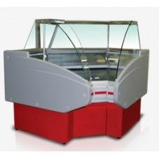 Холодильная угловая витрина Двина УВ 90 ВС внутренняя GolfstreamГольфстрим
