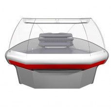 Холодильная угловая витрина G110 VM-5 Carboma ВХСу-1 угол наружный