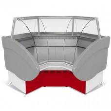 Холодильная угловая витрина Илеть ВХС-УВ внутренняя МХМ МариХолодМаш