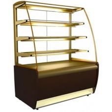 Кондитерская холодильная витрина K70 VM 1,3-1 Carboma ВХСв-1,3д
