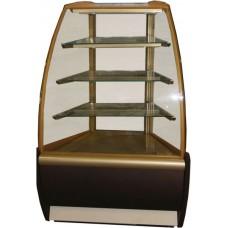 Кондитерская холодильная витрина K70 VM-3 Carboma ВХСв-У1д угловая