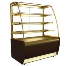 Кондитерская холодильная витрина K70 VV 0,9-1 Carboma Люкс ВХСв-0,9д