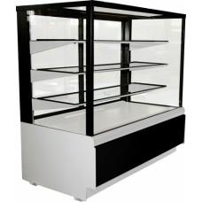 Кондитерская холодильная витрина KC70 VM 1,3-1 Carboma Cube ВХСв-1,3д ТЕХНО