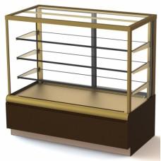 Кондитерская холодильная витрина KC70 VV1,3-1 Carboma Cube Люкс ВХСв-1,3д