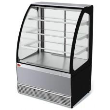 Кондитерская холодильная витрина Veneto VS-0,95 нерж. МХММариХолодМаш