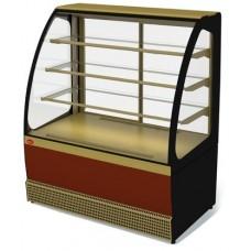 Кондитерская холодильная витрина Veneto VS-1,3 краш. МХММариХолодМаш