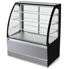 Кондитерская холодильная витрина Veneto VS-1,3 нерж. МХММариХолодМаш