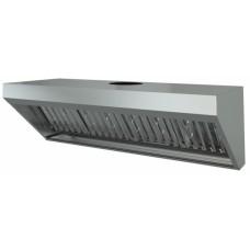 Зонт вентиляционный настенный ЗВН-1250х500х400 МХМ МариХолодМаш