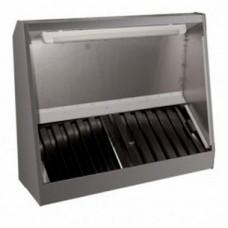 Зонты вентиляционные приточно-вытяжные пристенные ЗВПВ RADA