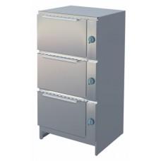 Шкаф жарочный АЛЕНТА ШЖ-3Э 3-х секционный электрический ATESY