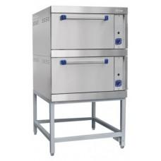 Шкаф жарочный газовый типа ШЖГ-2 двухсекционный Чувашторгтехника